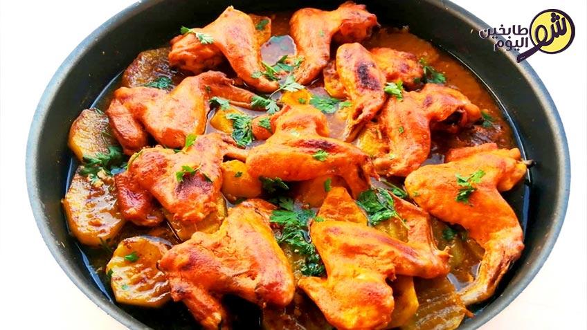 جوانح-بالفرن-مع-البطاطا- شو طابخين اليوم