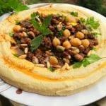 حمص-بالطحينة-مع-لحمة--شو-طابخين-اليوم