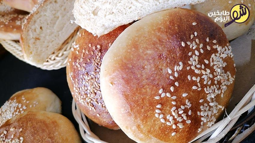 خبز-الصمون- شو طابخين اليوم