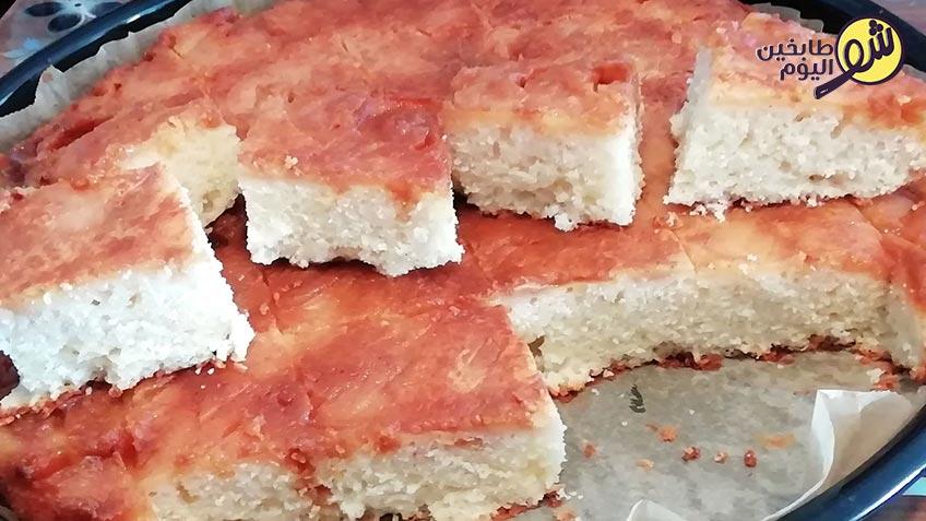 كيكة-التفاح-بالكريم-كراميل-3--شو-طابخين-اليوم