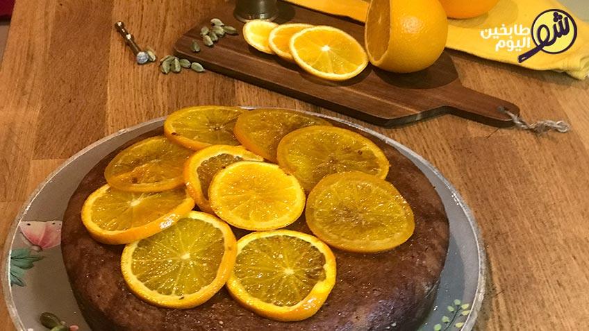 كيك-الهال-بقطر-البرتقال-شو-طابخين-اليوم