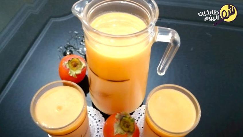 عصير-الخرمة-مع-البرتقال-والعسل-شو-طابخين-اليوم