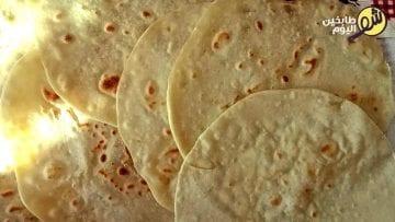 خبز-التورتيلا-شو طابخين اليوم