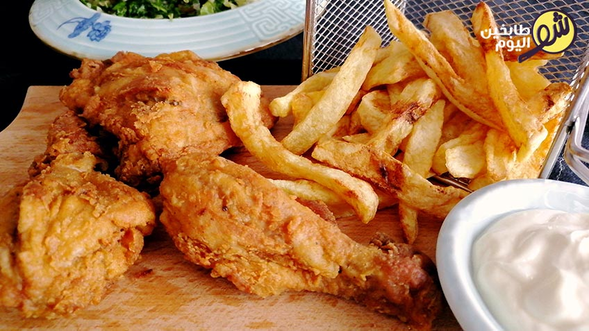 دجاج-كنتاكي-شو طابخين اليوم