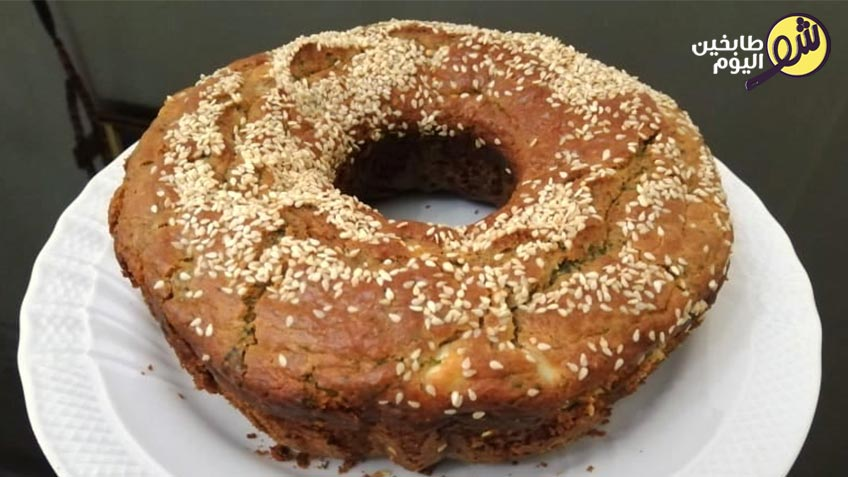 كيك-مالح-بالجبنة-والزعتر-1-شو طابخين اليوم